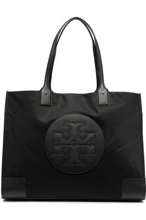Tory Burch Damen Shopper - Logo-patch tote bag