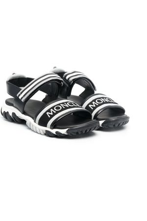 Moncler Logo-front strappy sandals