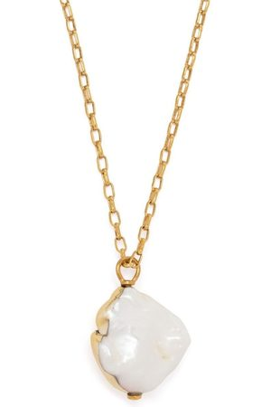 AMBUSH Medium Dipped Pearl charm necklace