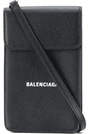 Balenciaga Logo flap bag