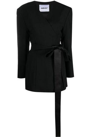 AMBUSH Damen Blazer & Sakkos - Waist-tied wrap blazer