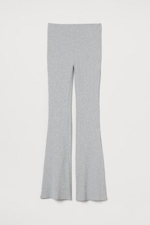 H&M Damen Leggings & Treggings - Gerippte Leggings