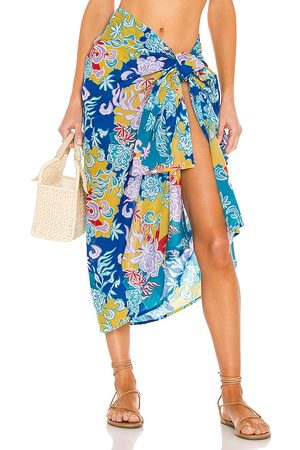 Mikoh Ahe Sarong in - Blue. Size all.