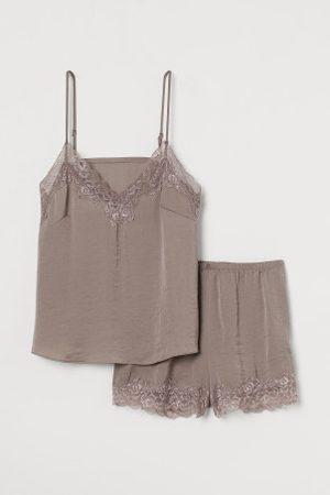 H&M Schlaftop und Shorts