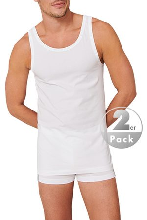 Schiesser Herren Tops & Shirts - Unterhemd 2er Pack 176038/100