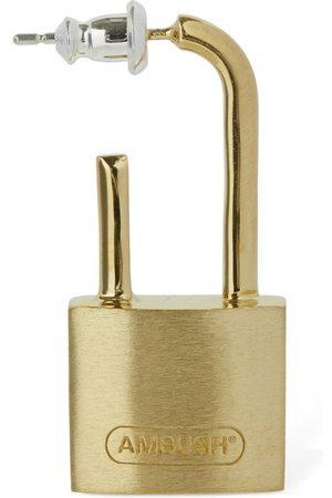 "AMBUSH Herren Ohrringe - Mono-ohrring ""padlock"""