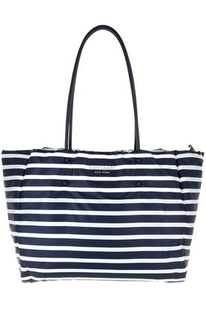 Kate Spade Tote Bags Everything Puffy Sailing Strip Large Tote - in blau - Henkeltasche für Damen