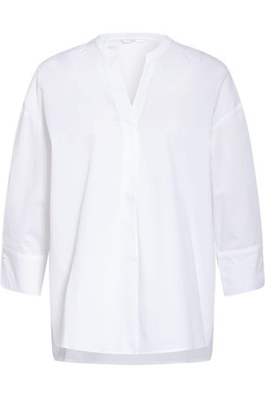 SOPHIE Bluse Opis Mit 3/4-Arm weiss