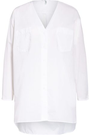 SOPHIE Damen Blusen - Oversized-Bluse Ope weiss