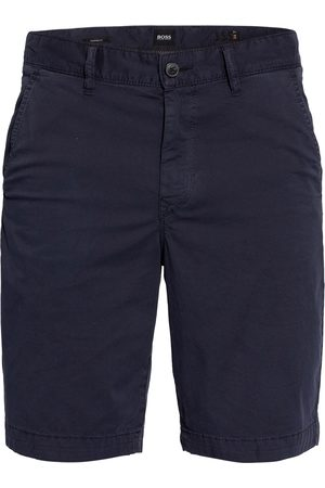HUGO BOSS Herren Shorts - Chino-Shorts Schino Tapered Fit blau