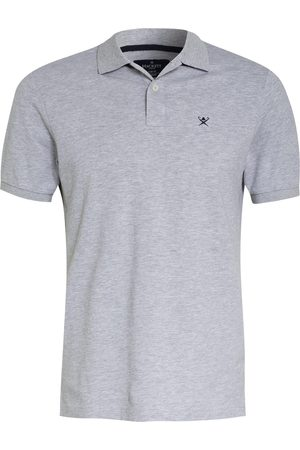 Hackett Piqué-Poloshirt Slim Fit grau