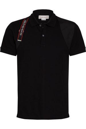 Alexander McQueen Herren Poloshirts - Piqué-Poloshirt Slim Fit