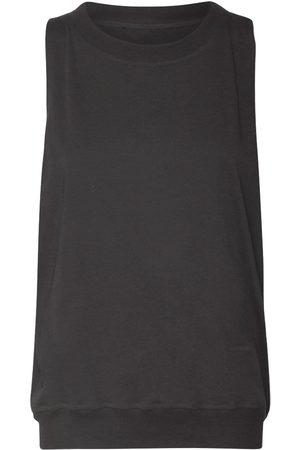 ALEXANDRE VAUTHIER Damen Shirts - Oberteil Aus Baumwolle Mit Logoverzierung