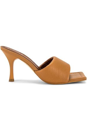ALOHAS Puffy Mule in - Brown. Size 35 (also in 36, 37, 38, 39, 40).