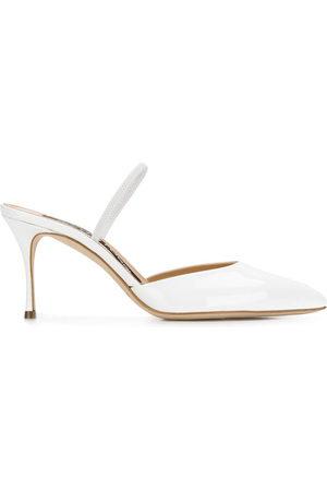 Sergio Rossi Damen Clogs & Pantoletten - Ankle strap mules