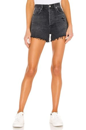 Citizens of Humanity Marlow Vintage Fit Short in - Black. Size 24 (also in 25, 26, 27, 28, 29, 30, 31, 32).