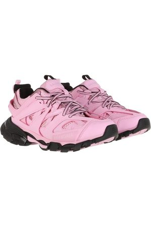 Balenciaga Track Branded Sneakers - in pink