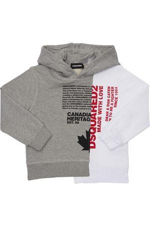 Dsquared2 Kapuzensweatshirt Aus Baumwolle Mit Druck
