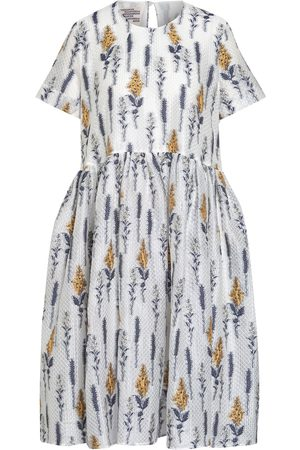 Baum und Pferdgarten Kleid Ariola weiss