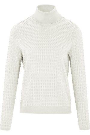 Peter Hahn Damen Rollkragenpullover - Rollkragen-Pullover aus 100% SUPIMA®-Baumwolle weiss