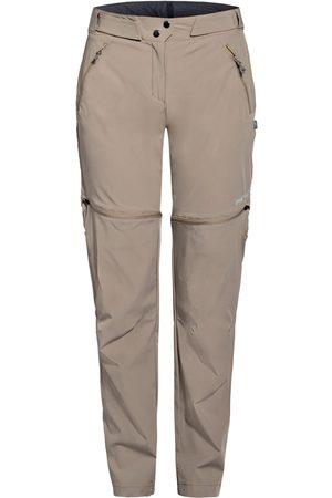 Meru Damen Shorts - Zipp-Off-Hose Rotorua grau