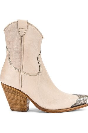 Free People Brayden Western Boot in - Cream. Size 37 (also in 39, 38).