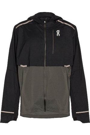 On Running Weather Jacket in - Black. Size L (also in M).