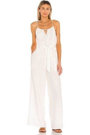 Lovers + Friends Cece Jumpsuit in - White. Size L (also in XXS, XS, S, M, XL).
