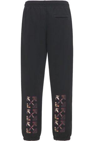 OFF-WHITE Spray Caravaggio Slim Jersey Sweatpants