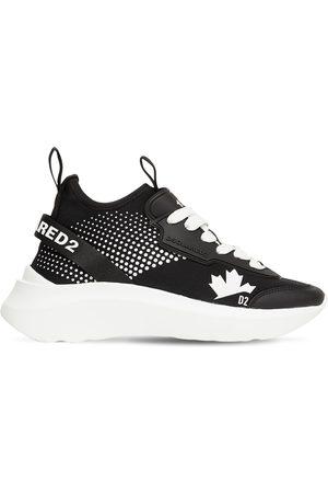 """Dsquared2 40mm Hohe Sneakers Aus Neopren """"speedster"""""""