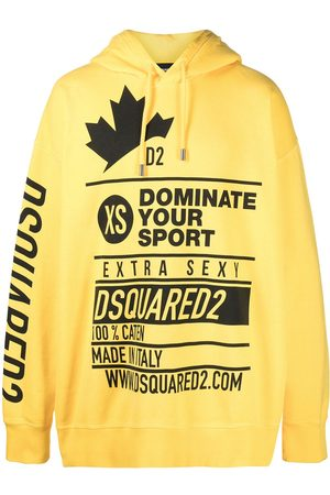 Dsquared2 Oversized slogan print hoodie