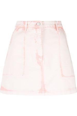 Alberta Ferretti Denim mini skirt