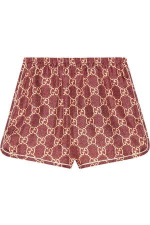 Gucci GG Supreme short shorts