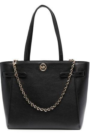 Michael Kors Carmen pebbled-leather tote bag