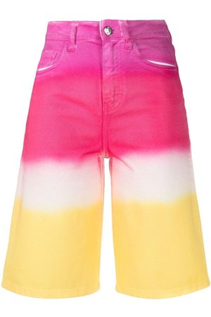 Ireneisgood High-rise gradient shorts