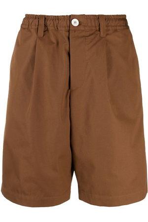 Marni Herren Shorts - Wide-leg cotton shorts