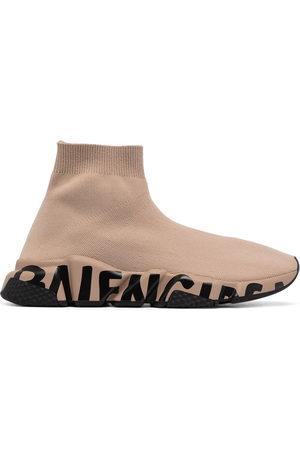 Balenciaga Speed graffiti-sole sneakers