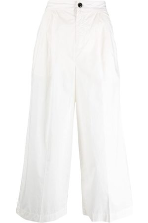 Woolrich Cropped wide-leg trousers