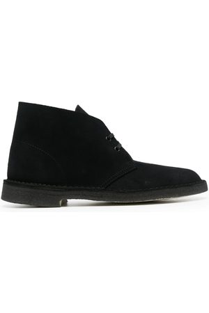 Clarks Suede lace-up shoes