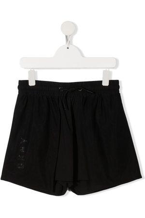 DKNY TEEN logo-printed shorts