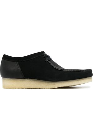 Clarks Wallabee lace-up suede shoes