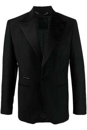 Philipp Plein Peak-lapels single-breasted jacket