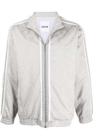 KOCHÉ Zipped bomber jacket