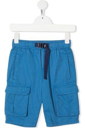 Stella McCartney Buckle-fastening multiple-pocket shorts