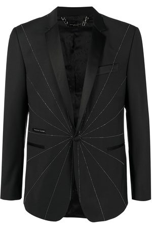 Philipp Plein Embellished tailored blazer