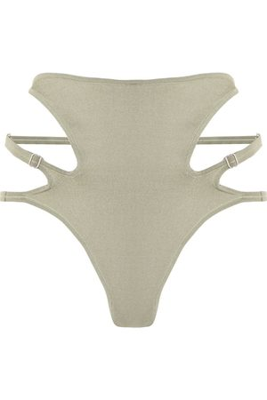 DION LEE Side cut-out high-rise briefs