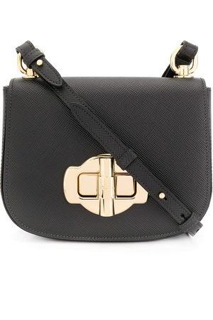 Prada Saffiano maxi twist-lock shoulder bag