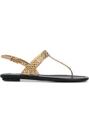 Prada Studded T-bar sandals