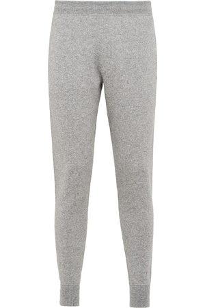 Prada Herren Jogginghosen - Cashmere knitted track pants