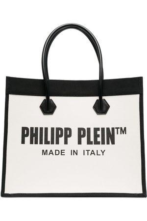 Philipp Plein Logo-print tote bag